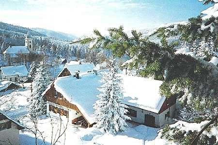 Zimní dovolená s dětmi na horách - zimní dovolená v penzionu v Albrechticích v Jizerských horách