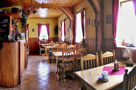 Ubytování na horách - Penzion v Albrechticích v Jizerských horách - restaurace